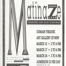 Matinaze 1990 Program