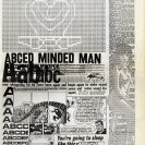 "A page from the ""Be Astounded"" Tharunka edited and laid out by Mick Glasheen to illustrate the effects of McLuhan's ideas on the print medium (1966)"