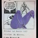 l'eight poster 1 Mar 1985,