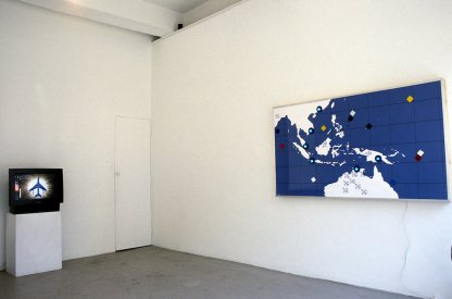 The War Room, Installation View, Blank Space Surry Hills,NSW, 2010