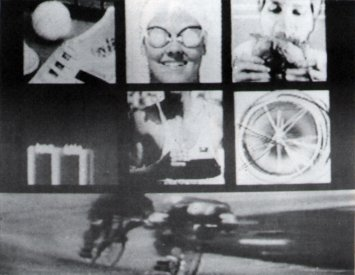 Catalogue image, from Video/Culture catalogue, for Anna Namuren's entry in the Australian Video Festival 1986 Video Graphics section.