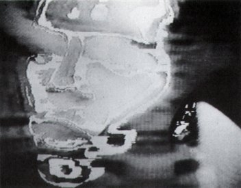 Catalogue image, from Video/Culture catalogue, for Severed Heads Petrol, entry in Video Music section.