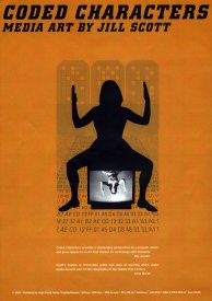 Cover image from Jill Scott's book Coded Characters (2002)
