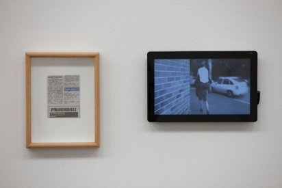 Kate Mitchell, Lost A Bet, 2011, installation view