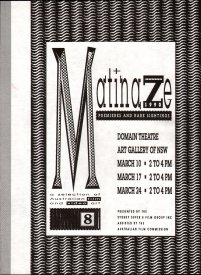 Cover of Matinaze, 1990, program