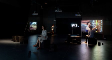 Alex Kershaw, One of Several Centres (2007-2010), Exhibition still, Performance Space at CarriageWorks.jpg