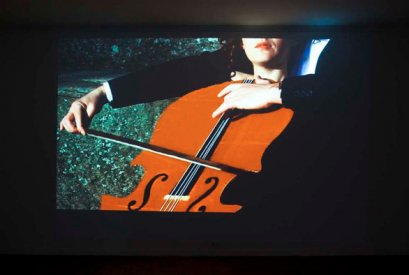 Daniel Mudie Cunningham, Rhymes With Failure (2010), Single Chanel HD Video, Installation View, Photo: Silversalt