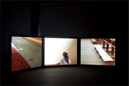 Kate Murphy, Rehearsal (for Saint Vitus), Installation View, Artspace, Sydney, 2009