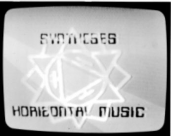 Title frame from Syntheses: Horizontal Music