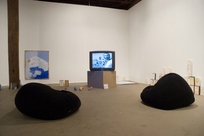 Matthew Tumbers, Gumnut Xanadu IV: We Could Be Heroes in Publicity, installation view, Artspace, Sydney, 2007