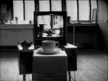 Frame from David Perry's Interior with Views (1976)