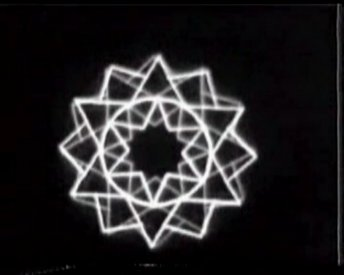 Yantra generated with the PDP8 at Sydney Uni by Ariel. (1974)